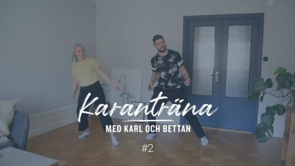 Övningsmaterial - Karanträna med Karl och Bettan, nummer 2